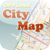 Cannes Offline City Map with POI